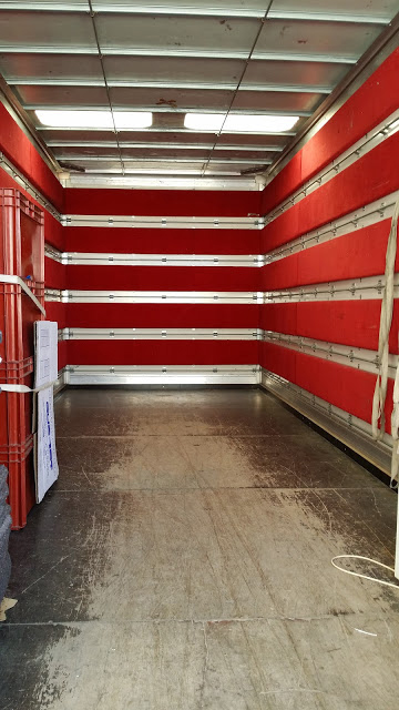 Nos camions sont capitonnés pour une protection optimale de vos objets